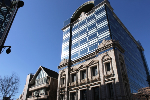 The Former Kawasaki Bank 川﨑 銀行 Yokohama Branch.