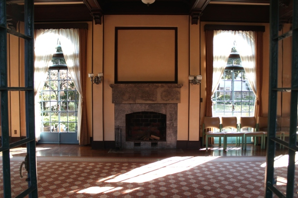 Interior of Berrick Hall, which is a public museum today.
