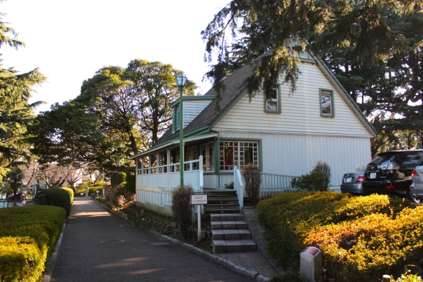 The Yamate Tennis Museum sits in the former Tennis club grounds, and was the place where tennis was first introduced to the city.