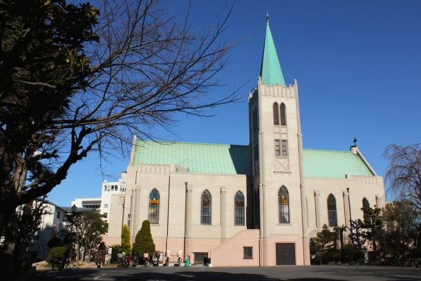 The Sacred Heart Cathedral was completed in 1933.