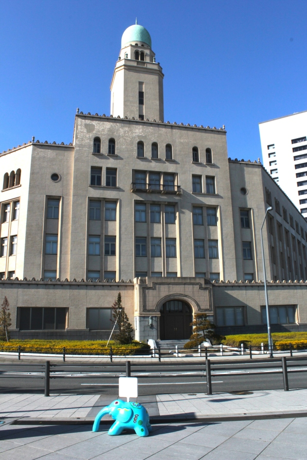 "The Yokohama Customs Building (1934), or ""Queen Tower"""