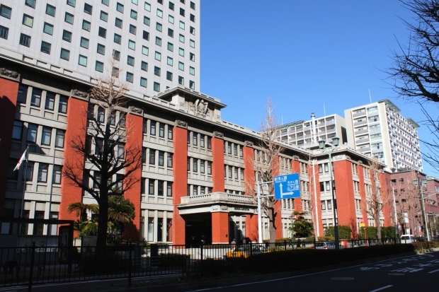 The Yokohama No. 2 Joint Government Offices Building.