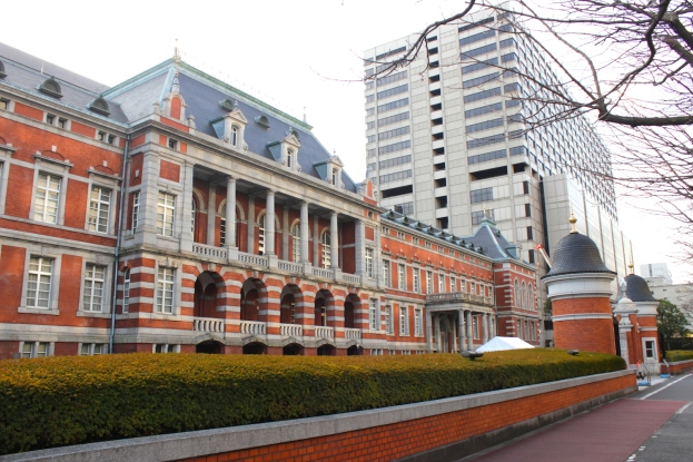 The former Ministry of Justice building was built in 1895 and is a major Meiji-era piece of cultural heritage.