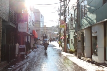 13 - The way up the hills to Yamate