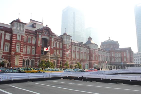 Goodbye Tokyo Station (and Tokyo)!