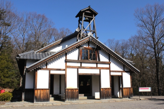 St Paul Daimyo-ji Church, Ioujima, Nagasaki (1879).
