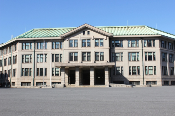 The Imperial Household Agency Headquarters is also another western-style structure built in the late Taisho early Showa era.