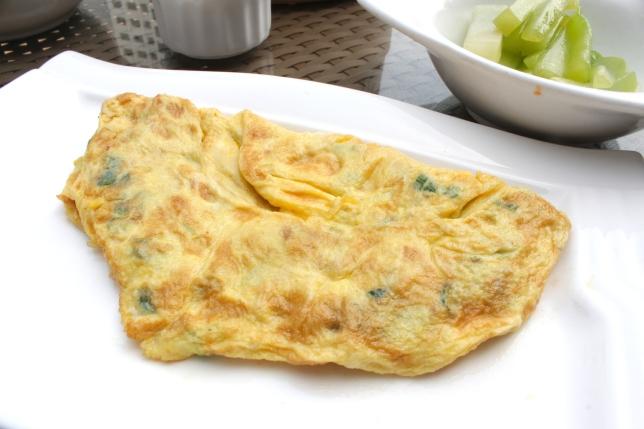 Cai Por Neng 菜圃卵 - preserved radish omelette, in Xiamen.