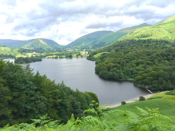 View of Grasmere, associated with William Wordsworth.