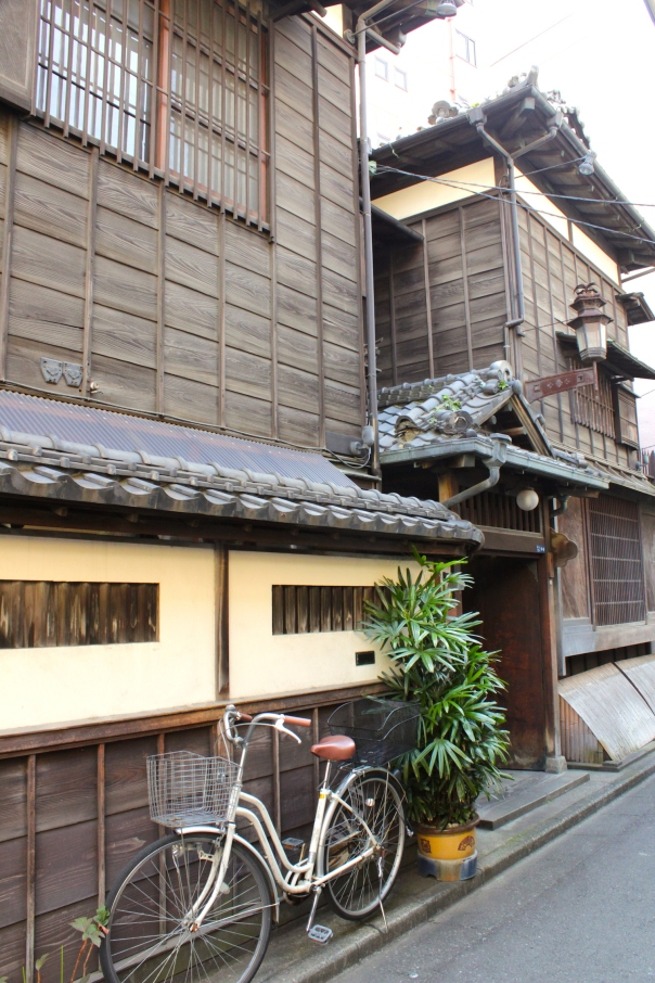 Old Edo-era houses