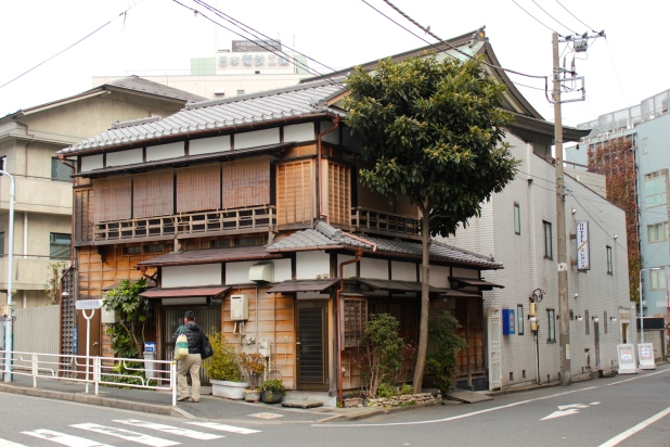 Traditional Japanese shophouse