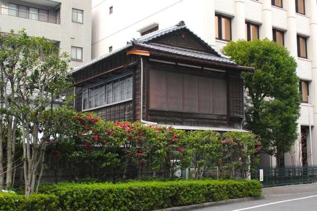 Traditional Japanese residence.