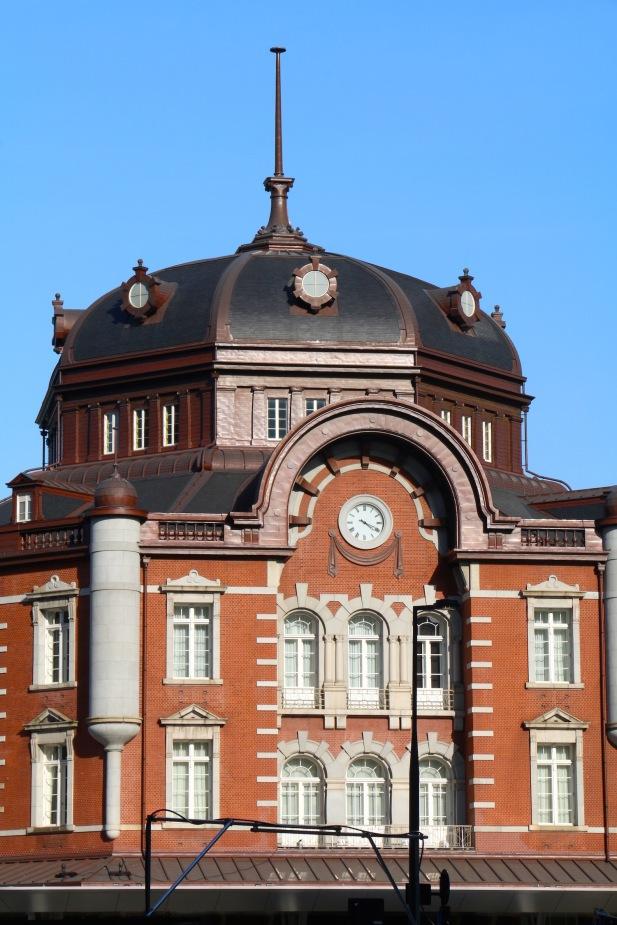 Tokyo Station Closeup