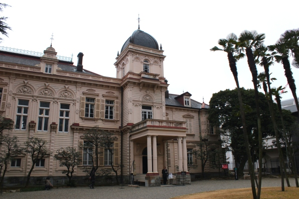 Just off Ueno Park sits the Former Iwasaki Residence 旧岩崎邸庭園, built in 1910 by Josiah Conder. This is a magnificent specimen of Meiji-era private residential architecture.