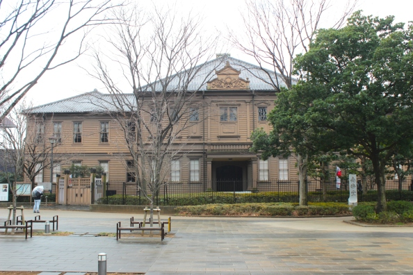 The Symphony Hall of the Old Tokyo Music School was built in 1890.