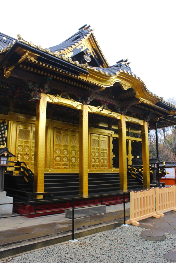 Front view of the Main Shrine in Tosho-gu.