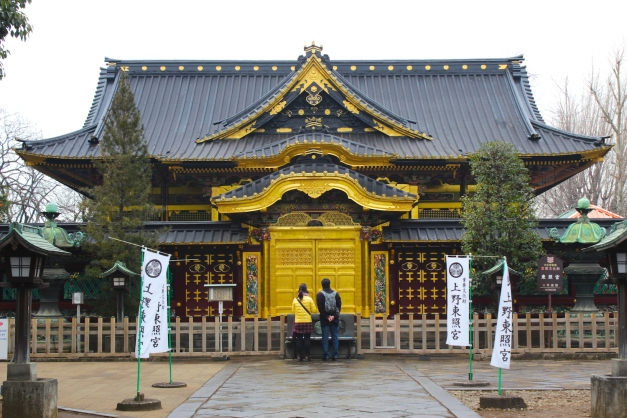 The stunning Tosho-gu Shrine proper.