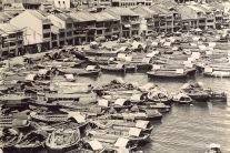 Boat Quay in the 1900s.