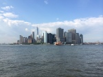 The Manhattan skyline, from Governor's Island.