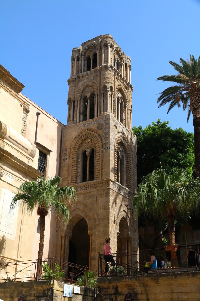 La Martorana - Norman Tower