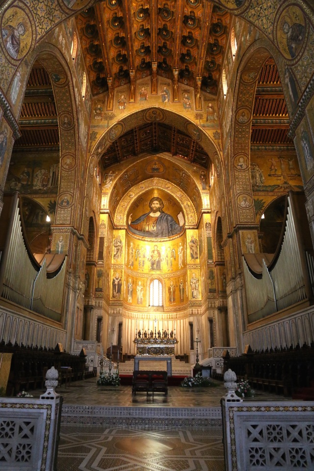Monreale Cathedral - View towards Choir