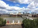 St Paul's Cathedral and the River Thames.