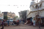 The area around Kalighat also plays host to rather stately apartment buildings, as well as the famous Nirmal Hriday (right), also known as Mother Theresa's Home for the Dying Destitute.
