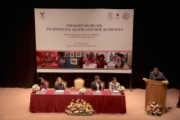 On the panel of the Asia-Europe Museums Network (ASEMUS) General Conference in New Delhi, 15 - 17 Mar 2017. ACM is the Vice-Chair and will take over as Chair of ASEMUS this November.
