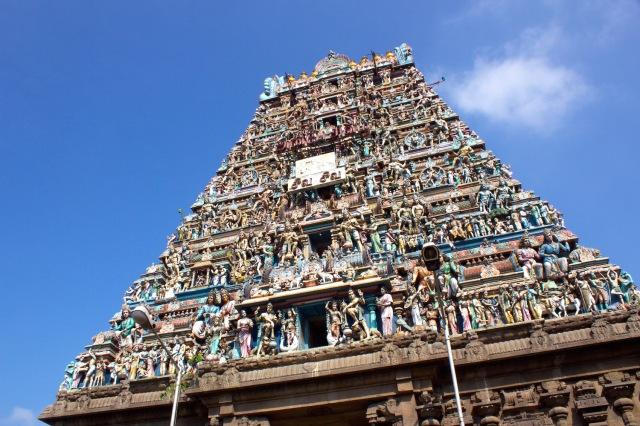 14 - Gopuram Closeup