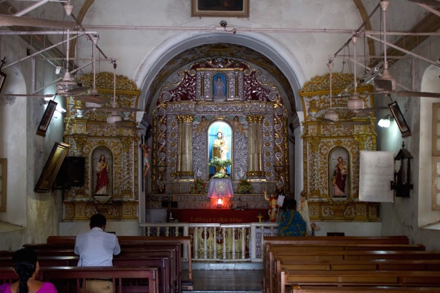 7 - Luz Church Interior
