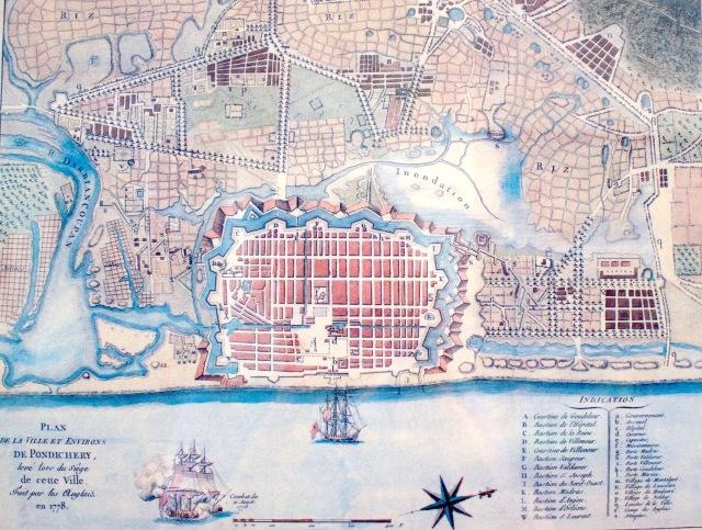 2 - Pondicherry Map