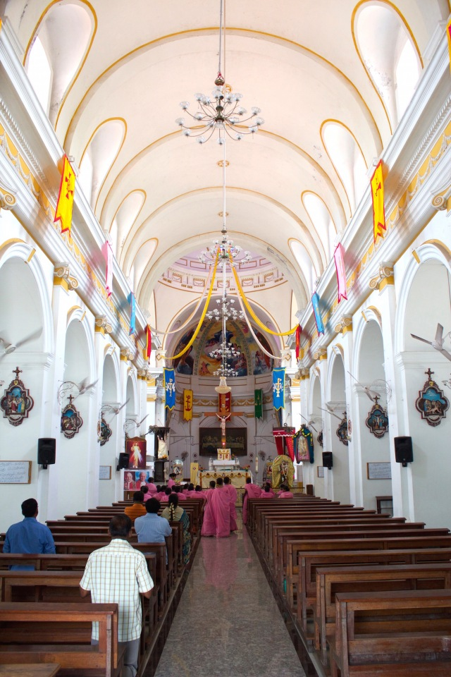 13 - Christian Quarter - Church interior