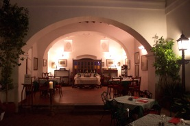 At night, the hotel's restaurant - Carte Blanche - comes alive and has magical, nostalgic ambience.
