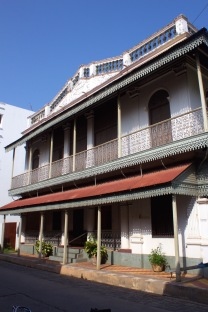 Exquisite Tamil house dating from 1933 in the Muslim Quarter.