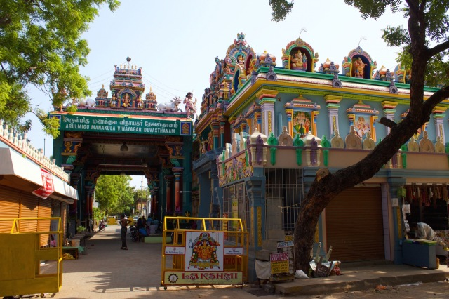 26 - Manakkula Vinayagar Temple (from before 1666)
