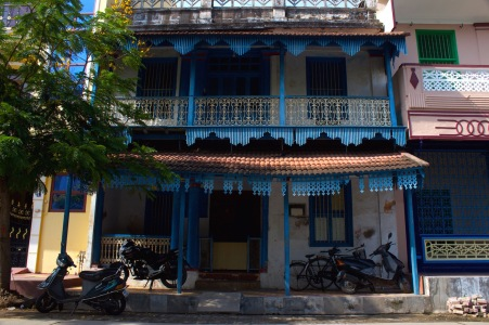 And finally, another beautiful Tamil house in the Muslim Quarter.