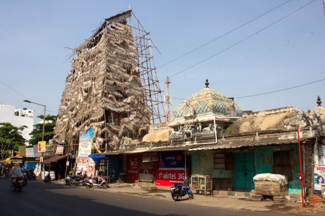 6 - Hindu Quarter - Isvaran Dharmaraja Kovil Gandhi St late 1700s
