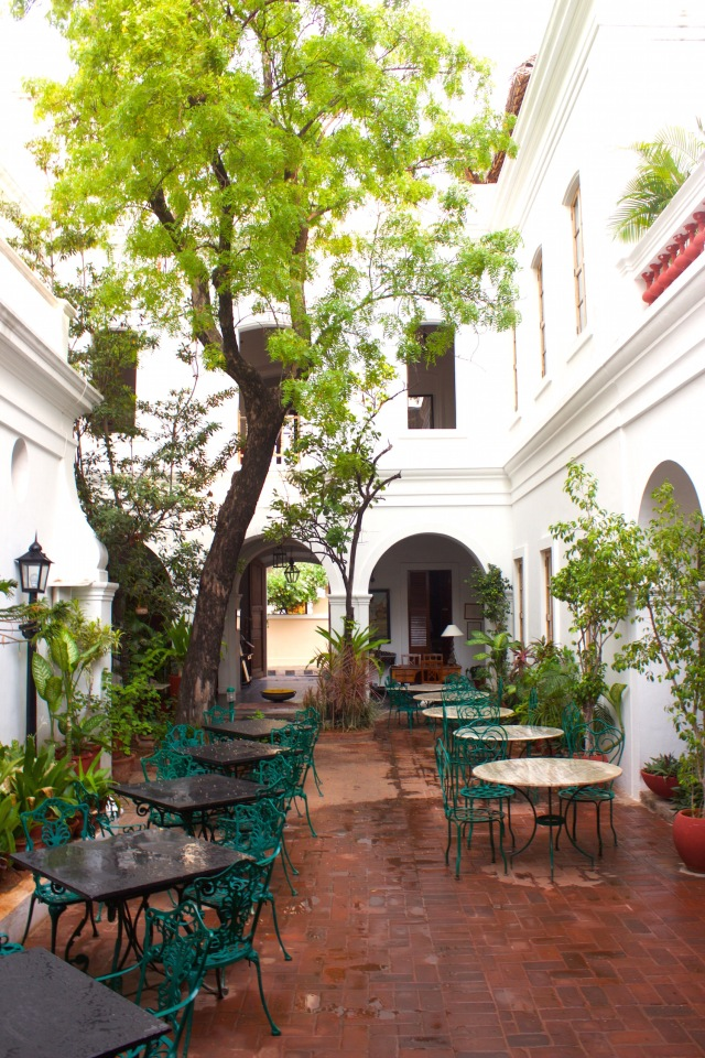 8 - Courtyard