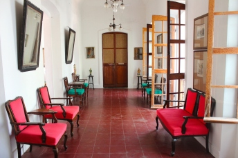 The historic property evokes Pondicherry in the 1800s.
