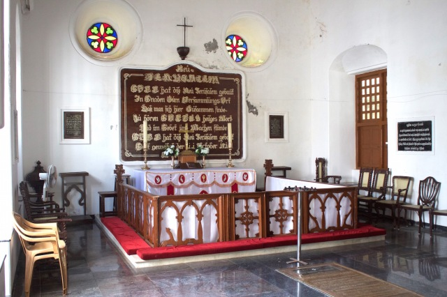 8 - Interior of Church