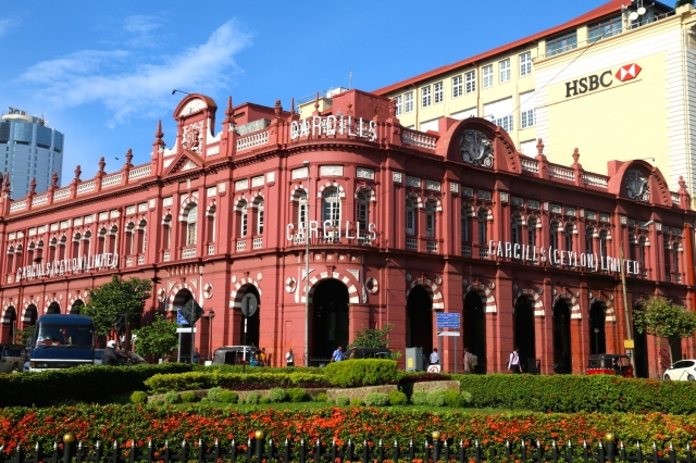 1 - Cargills York St - built by Walker, Sons and Co in 1906, occupying the former residence of Captain Pieter Sluysken Dutch military commander of Galle 1684