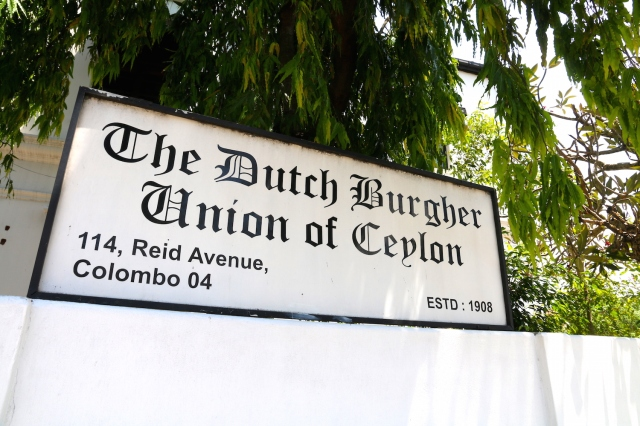 12 - Dutch Burgher Union