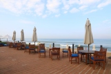 Sea Spray - the al fresco dining restaurant right by the sea.
