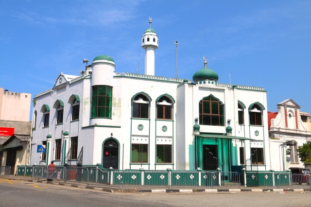 22 - Green Clock Tower Mosque