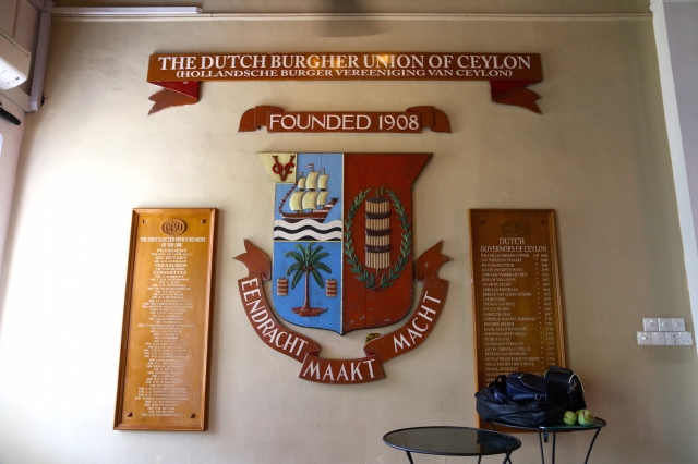 28 - Burgher Union Crest