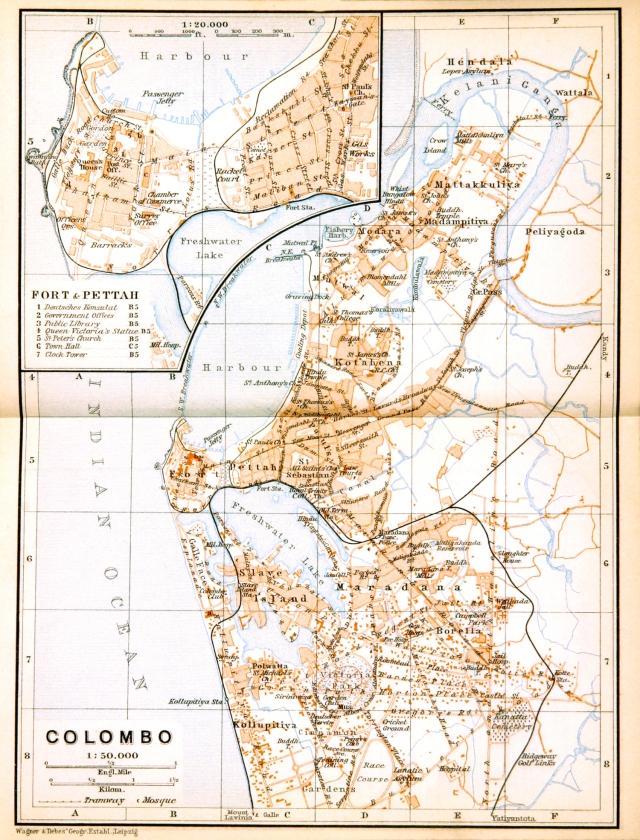 3 - Map_of_Colombo_(Baedeker,_1914)