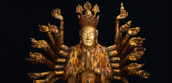 Lacquer Guanyin, Vietnam, 19th c. Collection of the Asian Civilisations Museum.