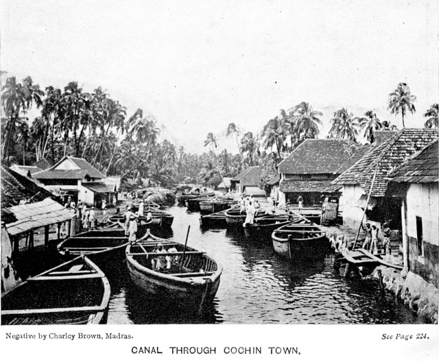 2 - Canal through Cochin Town