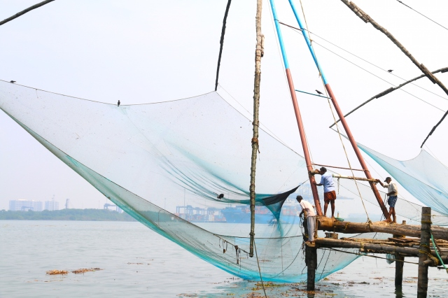 33 - Chinese Fishing Nets II