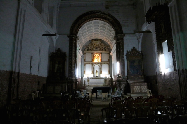 36 - Interior of Church Mount